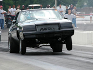 buick muscle car wheelie